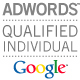 PPC Management, we're Google AdWords Qualified Individuals